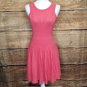 Milly of New York Coral Knit Dress Fits XS - Small